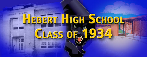 Hebert High Class of 34