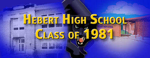 Hebert High Class of 81